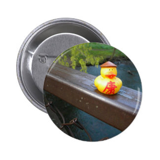 Duck Rail Pinback Button