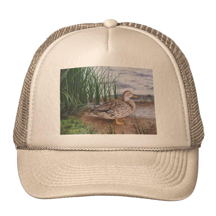 DUCK-ROUND LAKE TRUCKER HAT