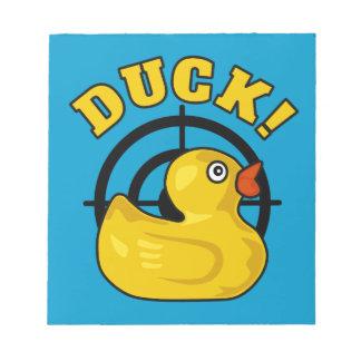 Duck! Scratch Pads