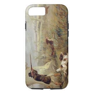 Duck Shooting (oil on canvas) iPhone 8/7 Case