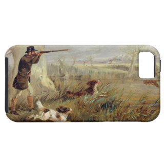 Duck Shooting (oil on canvas) iPhone SE/5/5s Case