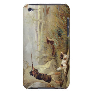 Duck Shooting (oil on canvas) iPod Touch Case