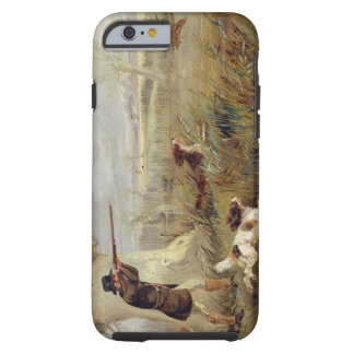 Duck Shooting (oil on canvas) Tough iPhone 6 Case