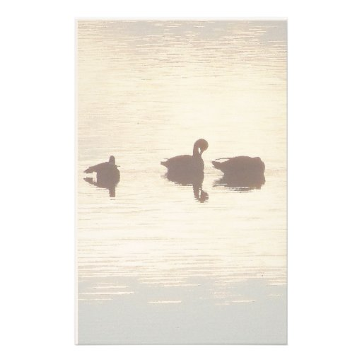 Duck Silhouettes Stationery