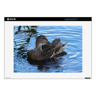 """Duck 15"""" Laptop Decal"""
