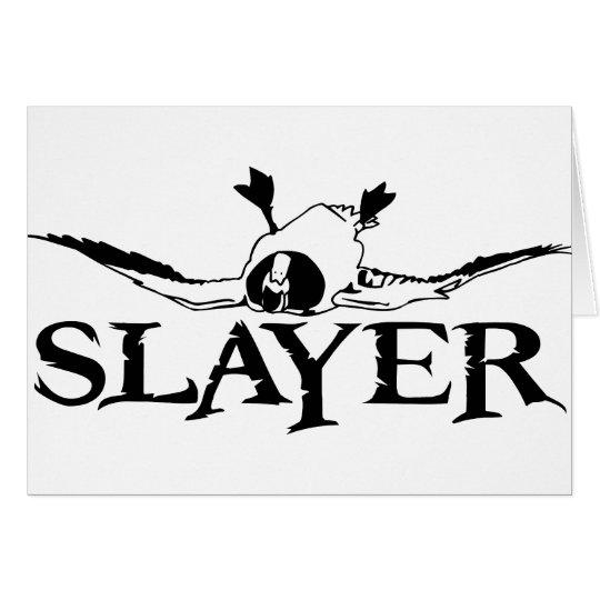 DUCK SLAYER CARD