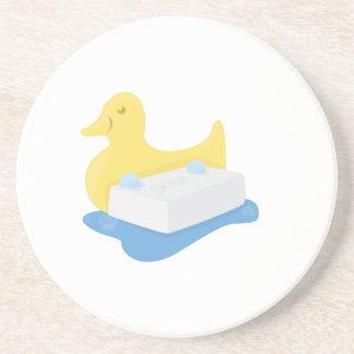 Duck & Soap Beverage Coaster