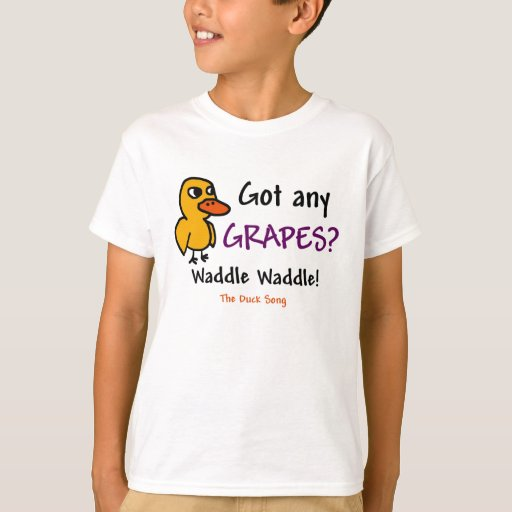 The Duck Song Hanes Tagless T-Shirt