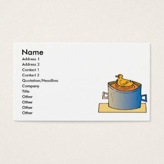 duck soup business card