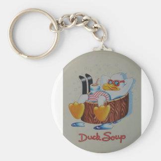 """Duck Soup"" Keychain"