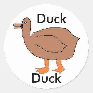 duck, sticker