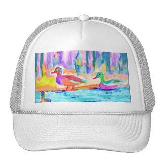 Duck Study Fine Art Trucker Hat