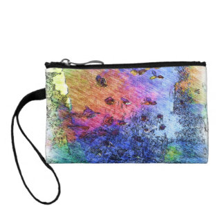 duck swiming in a pond coin wallets