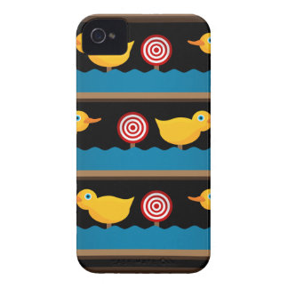 Duck Target Practice Shooting Gallery iPhone 4 Case-Mate Case