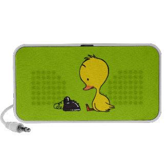 Duck & telephone speaker