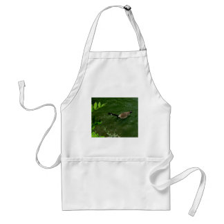 Duck that has lots to say adult apron