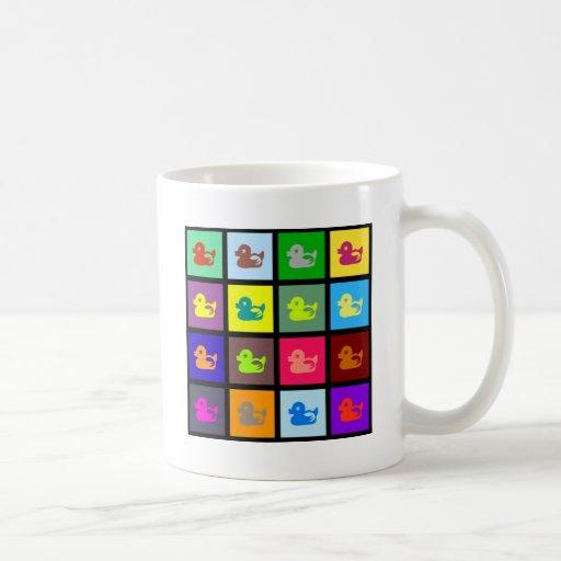 Duck Tile Wallpaper Coffee Mug
