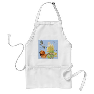 Duck Toller and Wild birds Adult Apron