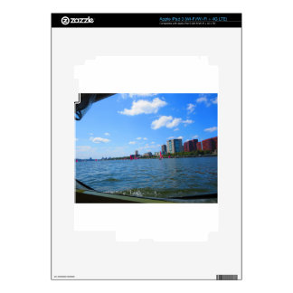 Duck tour window views of Boston City America Decal For iPad 3