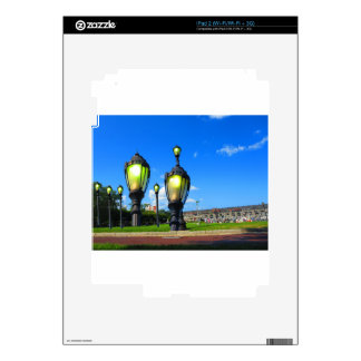 Duck tour window views of Boston City America iPad 2 Decal