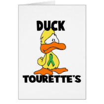 Duck Tourettes Syndrome Card