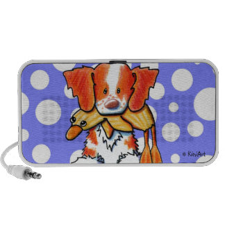 Duck Toy Brittany Spaniel Doodle Speaker