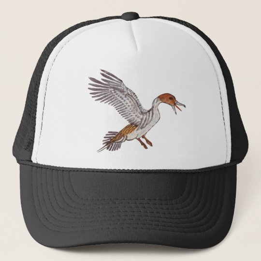 duck trucker hat