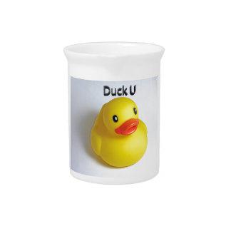 Duck U Beverage Pitcher
