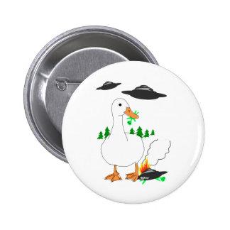 Duck vs. Aliens Button