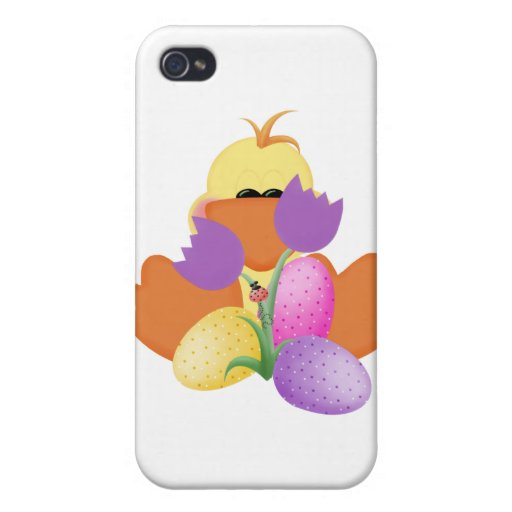 Duck w/ Tulips iPhone 4 Cover