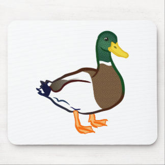 Duck Waiting Mouse Pad
