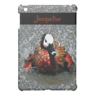 Duck watercolor CUSTOMIZE your name iPad Mini Cover