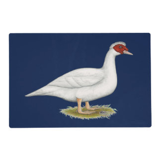 Duck White Muscovy Placemat
