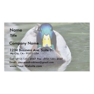 Duck Wild Animal Business Card