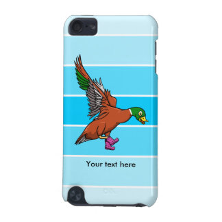 Duck With Boots On Illustration iPod Touch (5th Generation) Cases