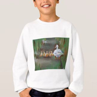 Duck with Ducklings Sweatshirt