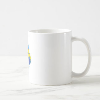 DUCK WITH FLOATIE CLASSIC WHITE COFFEE MUG