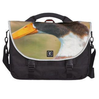 Duck with Mohawk Laptop Bag