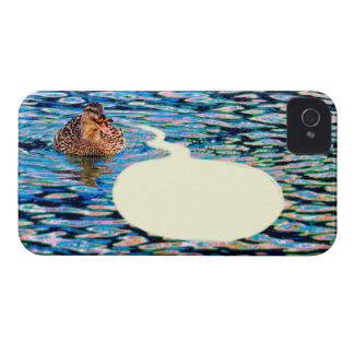 Duck & Word Balloon iPhone 4 Covers