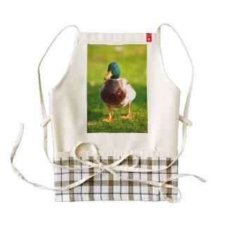 Duck Zazzle HEART Apron