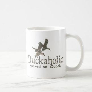 DUCKAHOLIC COFFEE MUG