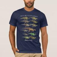 Duckbill hadrosaur Dinosaur Shirt Gregory Paul