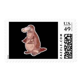 duckbill platypus postage
