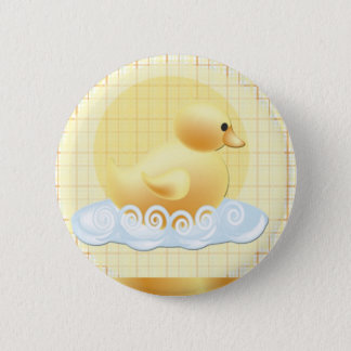 duckie-baby-shower pinback button