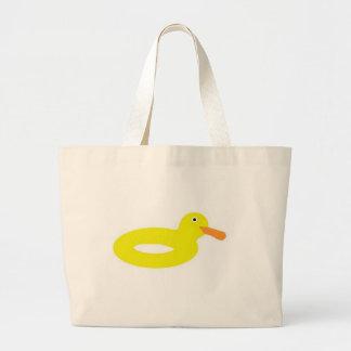 ¡Duckie! : D Bolsa Tela Grande