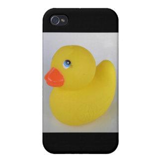 Duckie de goma iPhone 4 protector
