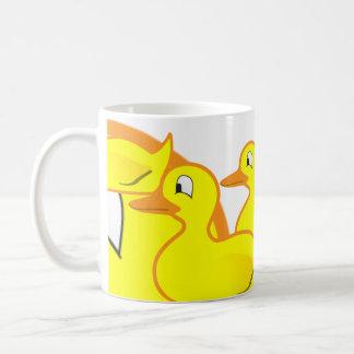 duckie, duckie, duckie, duckie, duckie, duckie,... coffee mug