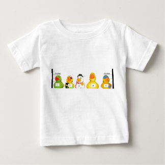 duckie lineup baby T-Shirt
