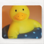 Duckie sonriente mouse pads