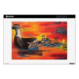 "Duckie Sunset Skin For 13"" Laptop"